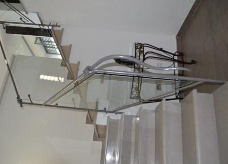 מעקה זכוכית דגם Z-1000-4, תמונה 3