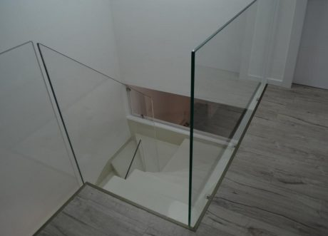 מעקה זכוכית דגם Z-1000-14, תמונה 2