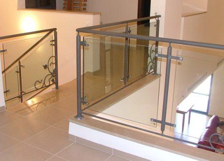 מעקה זכוכית דגם Z-1000-9, תמונה 8