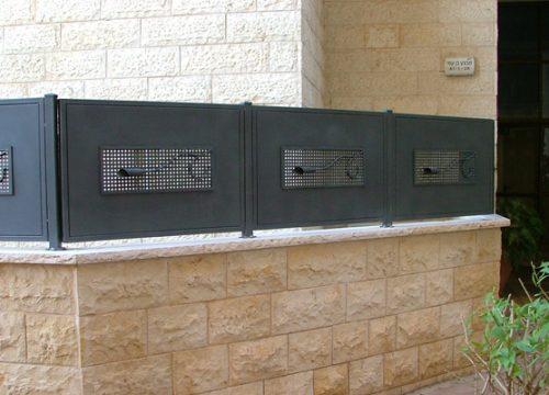 גדרות בשילוב רשת Gp100-8