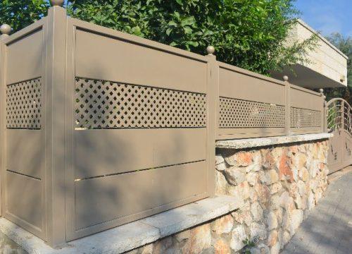 גדרות בשילוב רשת Gp100-16